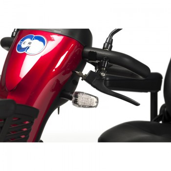 Ceres 4 special Edition red- steering column